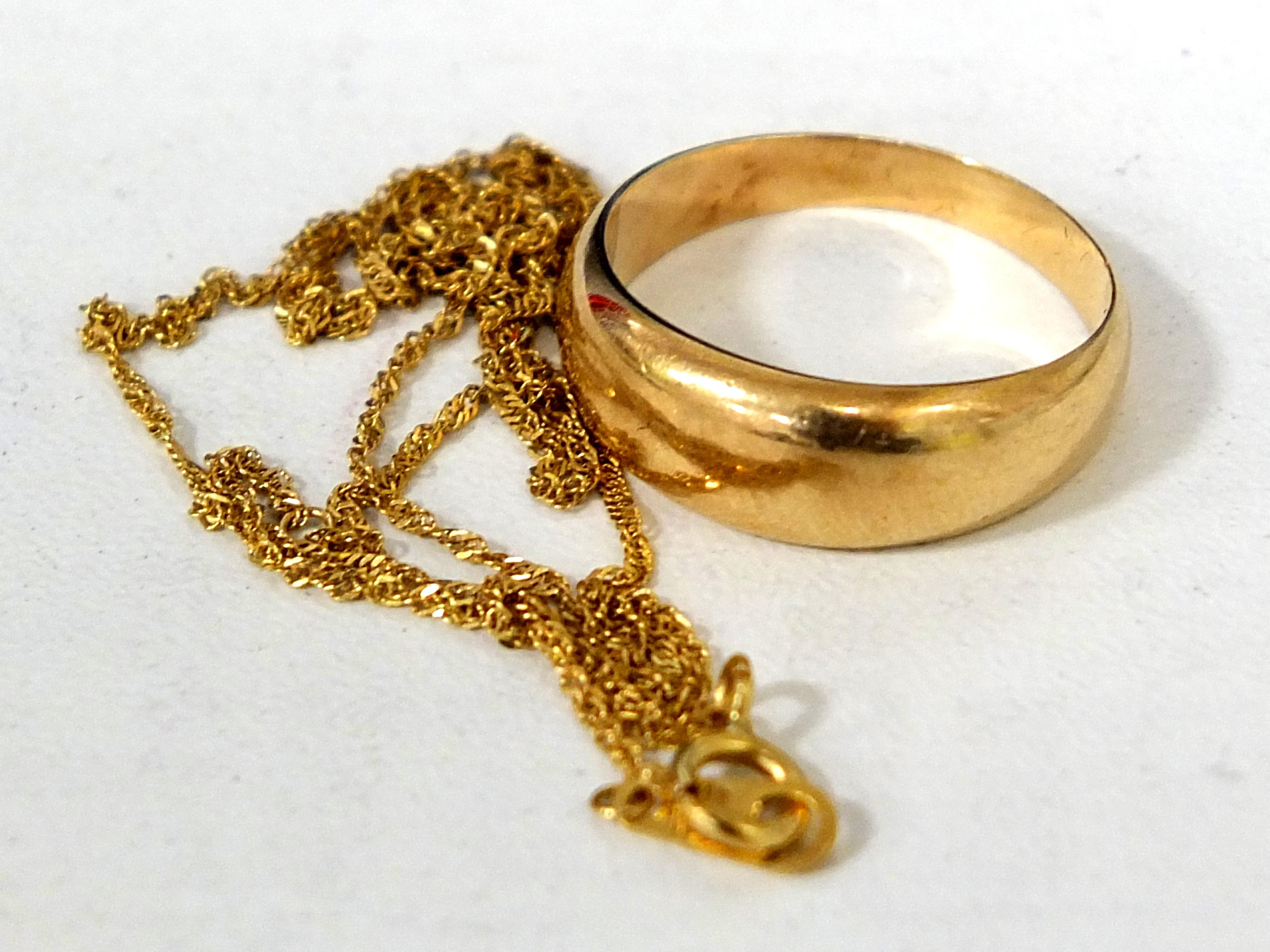 本物の金とメッキ品を見分けるたった3つの方法